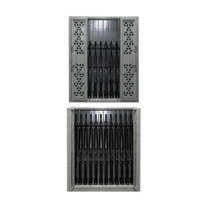stackable weapon racks, single tier weapon rack, double tier weapon rack