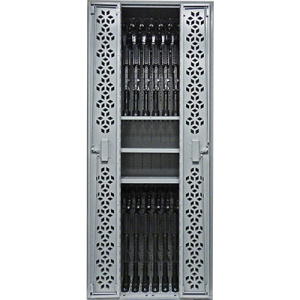 weapon storage cabinet, weapon storage racks