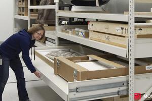 Archival Art Storage Systems - Modular Storage