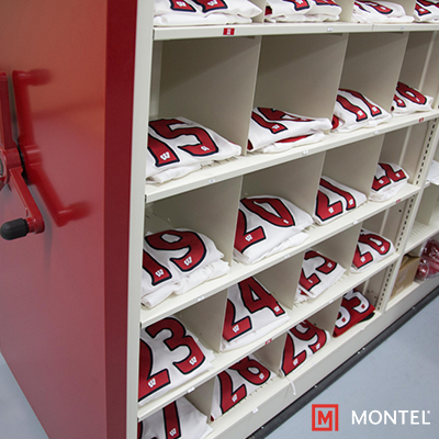 Storage Solutions for Athletic Locker Rooms - Uniform Storage