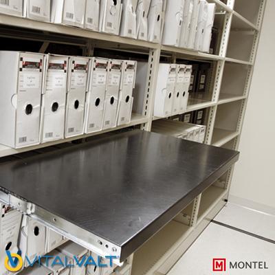 Box Shelving - Records Storage Shelving System