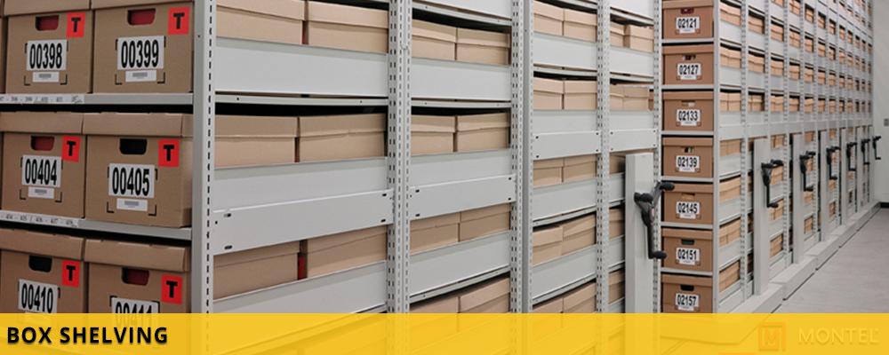 Box Shelving - Box Storage Shelving - Shelving Systems