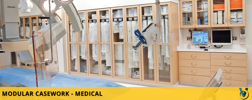 Healthcare Storage - Furniture for Medical Facilities