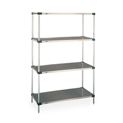 Clean Room Racking System - Stainless Steel Shelves - Perforated Steel Shelf