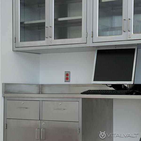 Cleanroom Drawers - Cleanroom Tabletops - Lab Tabletops