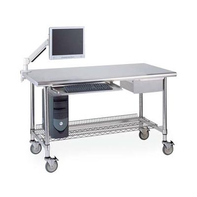 Stainless Steel WorkStations - Plastic TableTops - Steel Tabletops