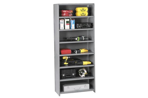 Clip Shelving - Shelving & Racking Solutions - Steel Clip Shelving - Clip Shelves - Clip Style Shelving
