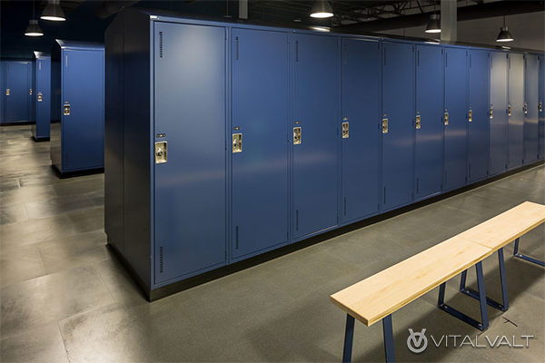Locker Room Storage Solutions - Sports Lockers