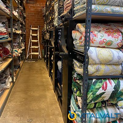 Textile Racking - Fabric Racking