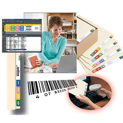 Filing System Software - File Folder Label Software