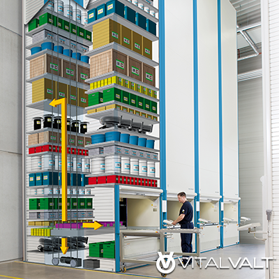 Vertical Lift Storage System - GSA Pricing