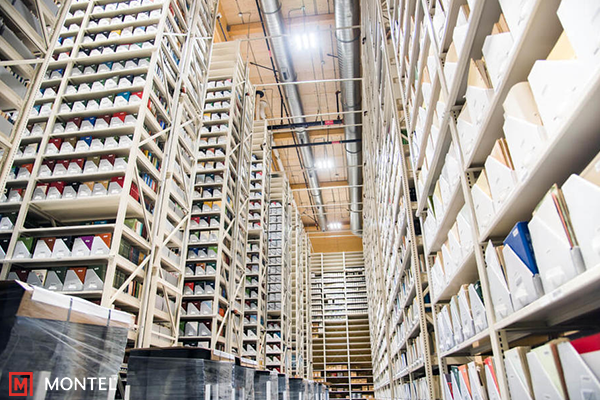 High Bay Shelving System - Mobile High Bay Shelving - Archive Storage - Archival Storage