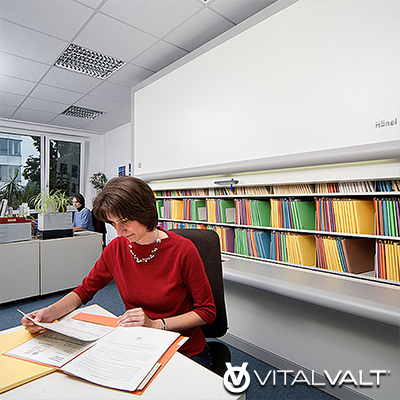 Rotomat Office Carousel - Filing Systems for Office & Administration