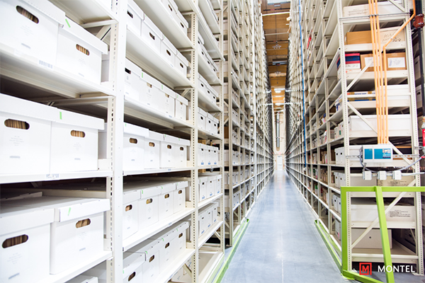 Archive Storage - Warehouse Shelving - Industrial Racking