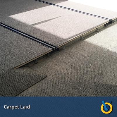 High Density Storage - Wood Deck & Carpet Laid