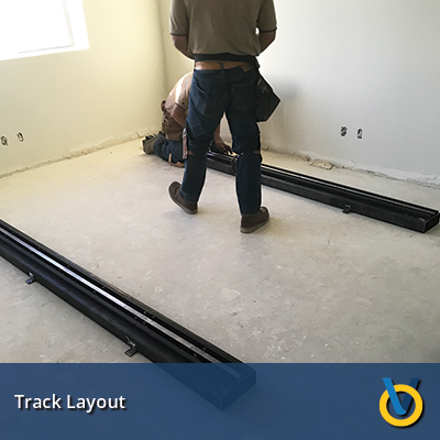 Storage Track System Install