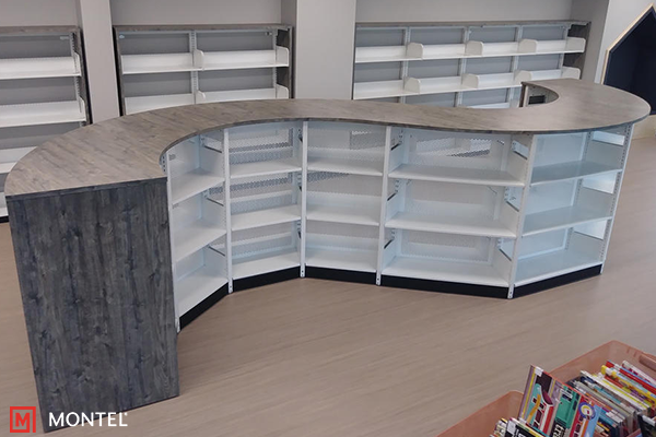 Curve Shelving System - Curved Library Shelving