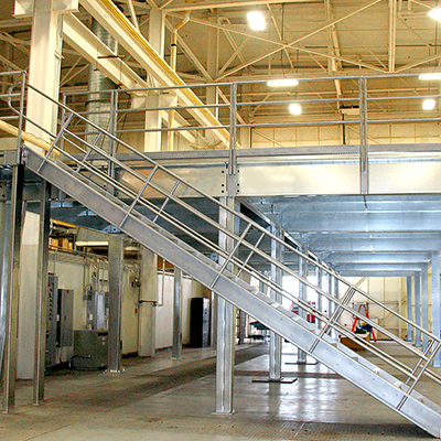 Industrial Storage Solutions - Warehouse Mezzanines & Structures