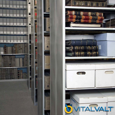 L&T Shelving - Archive Shelving - Static Box Shelving