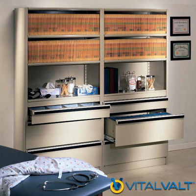 L&T Shelving System - Shelving System with Modular Drawers - Add Drawers to Shelving System