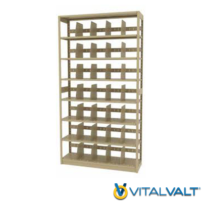 L&T Shelving - 4 Post Shelving System
