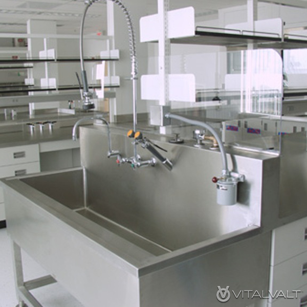 Sinks for Anterooms, Medical & Pharmacy Facilities, Cleanrooms, Labs