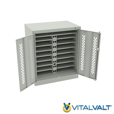 Powered Laptop Security Cabinets - Tablet Charging Station - Tablet Charging Cabinet