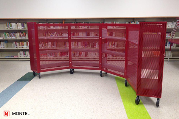 Shelving for Libraries - Flexible Library Shelving - Hybria Curve