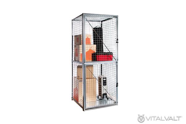 Wire Mesh Storage Cabinet Cage