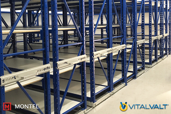 Cold Storage - Pull Handle Storage Shelving System