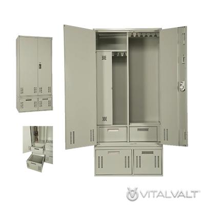 Military Lockers - First Responder Gear Storage Lockers - TA-50 Gear Lockers