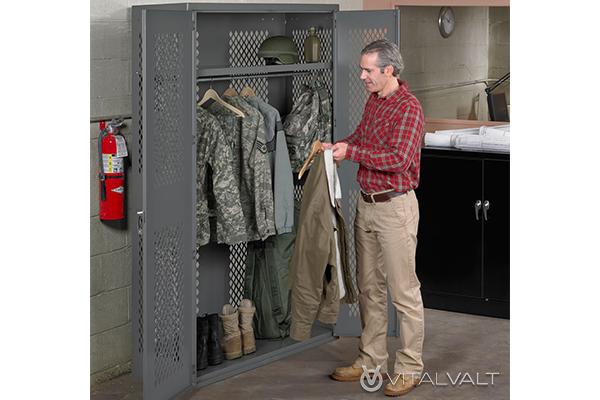 Military Gear & Uniform Storage Solutions