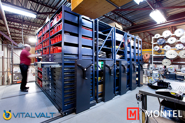 RACK&ROLL - Mechanical-Assist Mobile Storage System