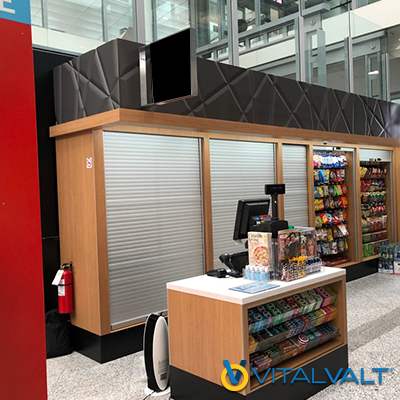 Mobilflex Security Closures - Kiosk Security Shutters