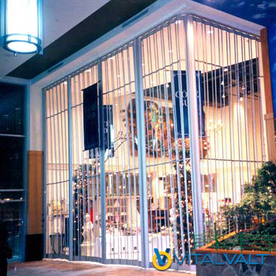 Security Closures - Polycarbonate Folding Closures