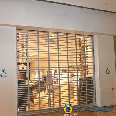 Retail Security Grilles - Roll-Up Security