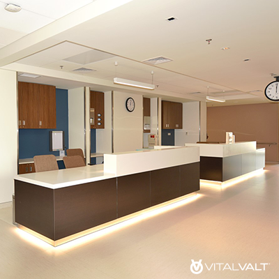 Modular Work Stations - Office Casework Solutions - Reception Stations