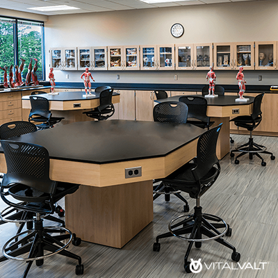Modular Millwork for School & University - Furniture for Administration - Education Facility