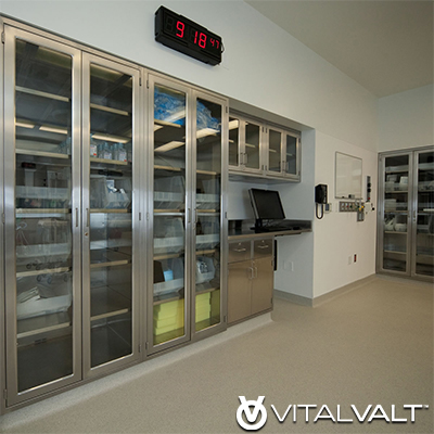 Personal Protection Equipment Stainless Steel Shelving