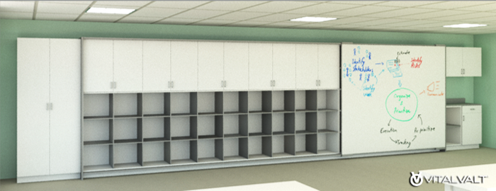 Modular White Board for Small Meeting Areas & Classrooms