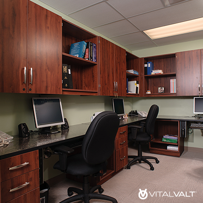 Office Storage Cabinets - Office Shelving Units - Office Bookcases - Wall Cabinets - Modular Casework Furniture