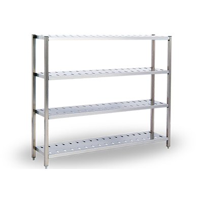 Stainless Steel WIP Racks - Anti-Microbial Racks - Chemical Safe Shelving