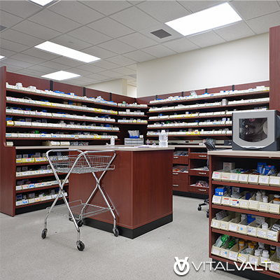 Pharmacy Fixtures & Shelving - Pharmaceutical Storage