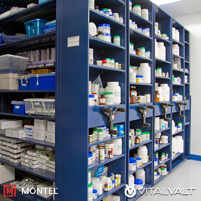 Healthcare High Density Storage Systems