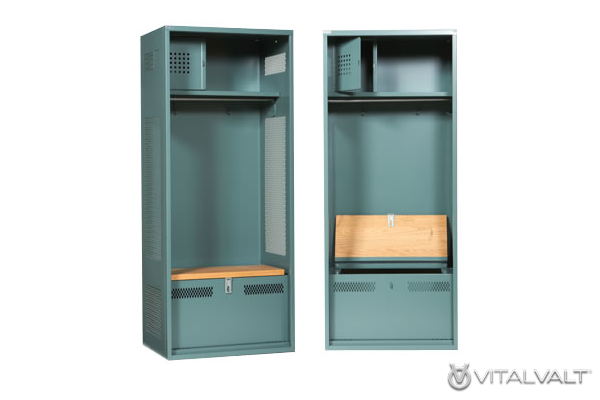 Custom Athletic Locker - Sports Storage