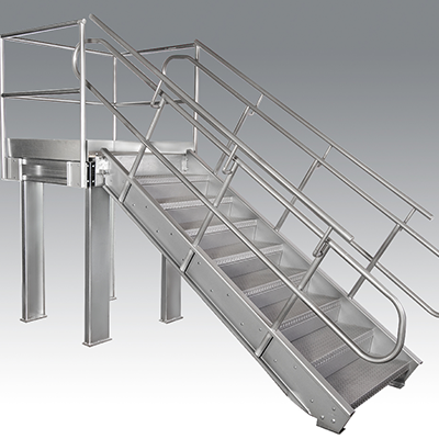 Stair Tower Systems - Warehouse Storage Structures