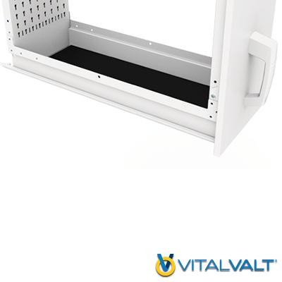 Modular Vertical Shelving - PVC Mat