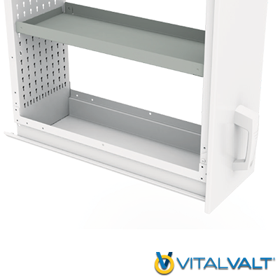 Vertical Drawers - Adjustable Tray