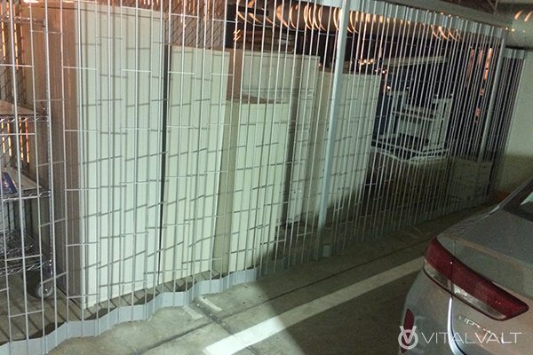 Wire Mesh Fencing for Tenant Storage