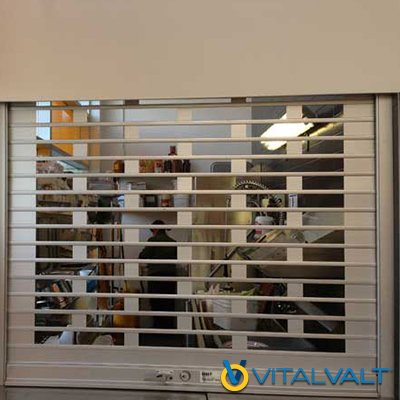 Mobilflex Security Closures - Counter Security Closures - Roll Up Counter Closures